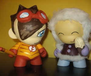 Our Munnies, Kid Flash and Ice Creamsiko